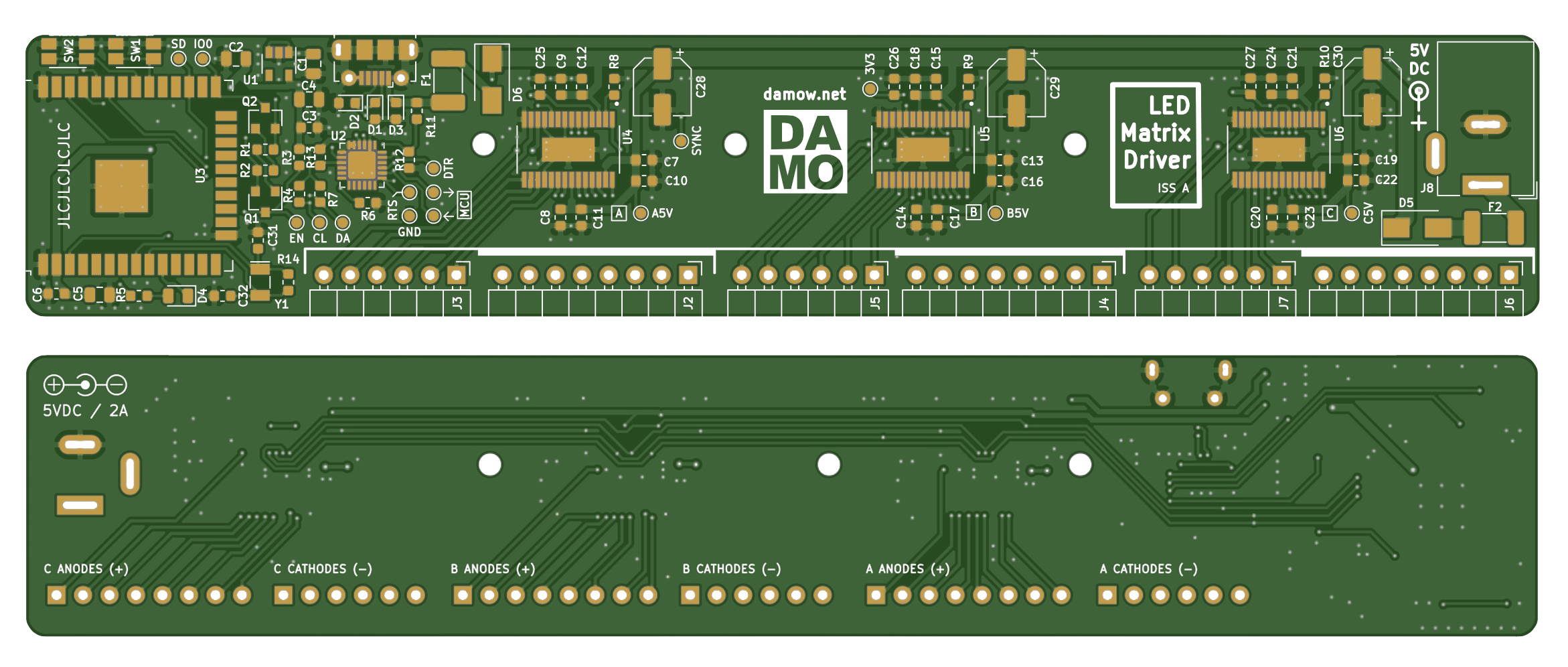 Finished Gerbers of the PCB layout